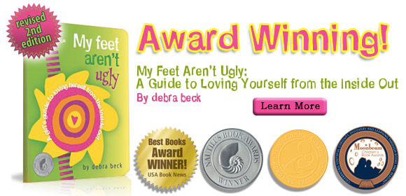 Debra Beck Book My Feet Aren