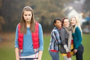 teen being bullied
